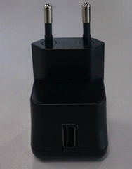 11W  USB adapter/charger 5V/2.1A  EU plug type