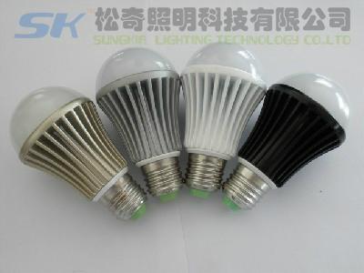E26 LED球泡燈,7WLED球泡燈,廣東中山LED球泡燈 1