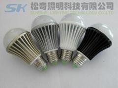 E26 LED球泡燈,7WLED球泡燈,廣東中山LED球泡燈