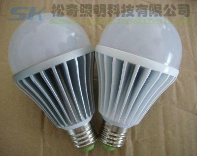 E26 LED球泡燈,7WLED球泡燈,廣東中山LED球泡燈 3
