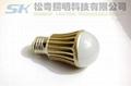 E26 LED球泡燈,7WLED球泡燈,廣東中山LED球泡燈 5