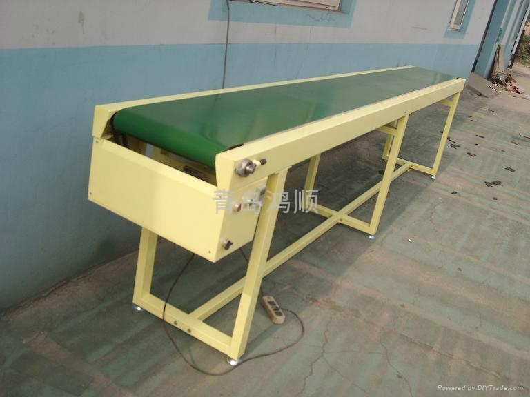 山东PVC带输送机 1