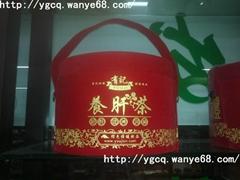 有记养肝茶大红圆筒