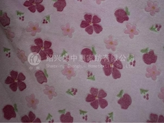 100 polyester fleece fabric base in China
