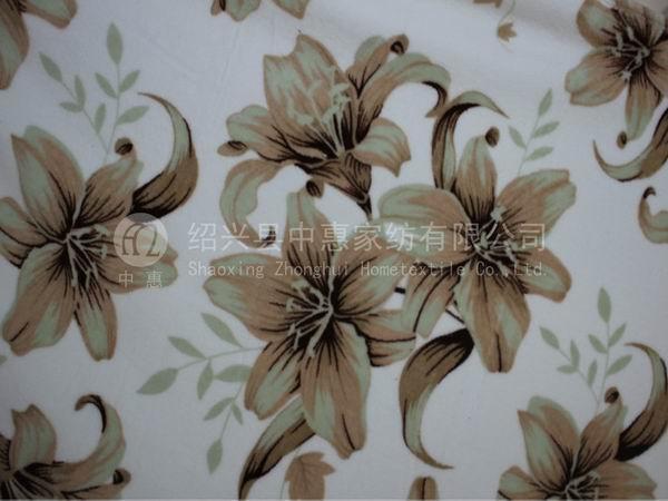 100% polyester superthick MICRO DTY polar fleece fabrics 1