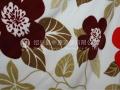 POLYESTER YARN DYED FLEECE FABRIC
