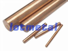 tungsten copper alloy rod/bar