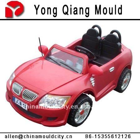 塑料注塑扭扭車模具 4