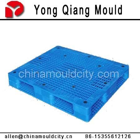 黃岩塑料注塑托盤模具 4