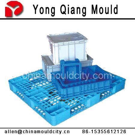 黃岩塑料注塑托盤模具 5
