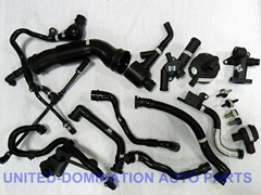 all AUDI VW Breather Hose, Exhaust Pipe