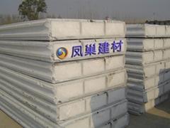 水泥粉煤灰复合夹芯轻质隔墙板
