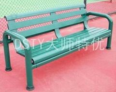广州大师特优铝合金球场休息椅