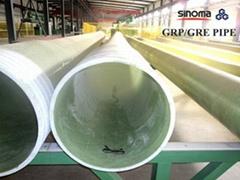 GRP (Glassfiber Reinforced Plastic) Pipe
