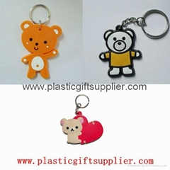 Promotional pvc keychain for lover with your design