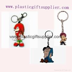 custom designed pvc keychain for promotion