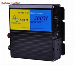 300W/600W pure sine wave car power inverter