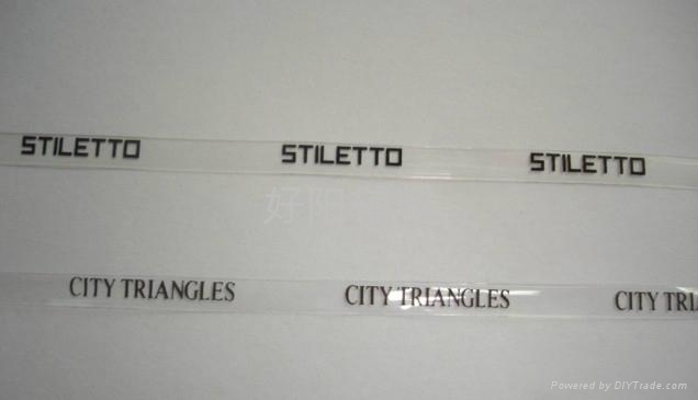 TPU商标印字透明带 1