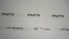 TPU商标印字透明带