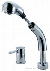 brass pull out ktichen mixer facuet C2-008F0