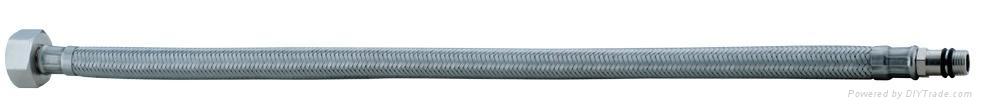不鏽鋼12MM編織單頭管 1