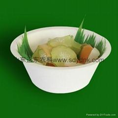 eco-friendle tableware biodegradable sugarcane bowl