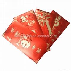 廠家批發高檔金箔紅包  節慶用品訂做紅包