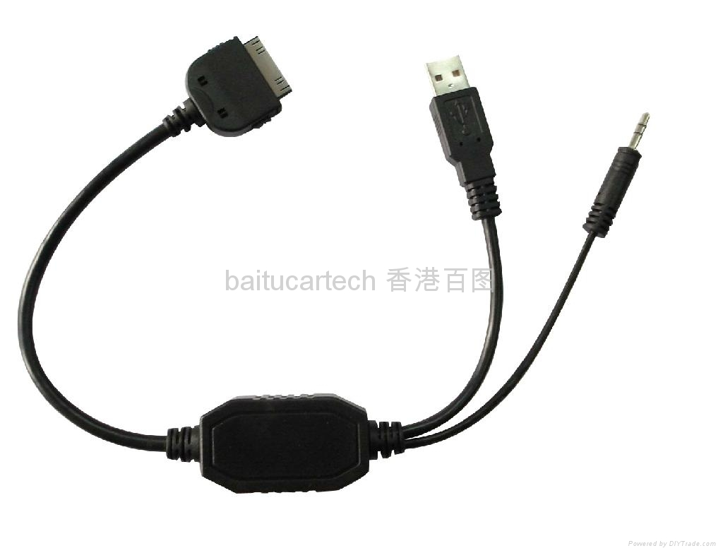 Bmw Mini Cooper Oem Usb 3 5mm Aux Cable For Iphone Ipod