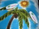 Custom Printed Compressed Beach Towel