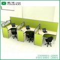 M26 three seats fabric office partition