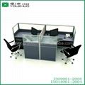 Fashionable aluminium glass office