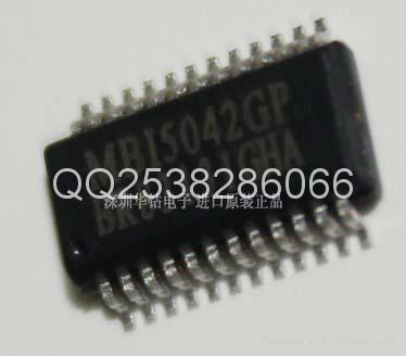 聚積MBI5041GP全彩屏LED16位灰階控制的脈波寬度調變驅動IC 1