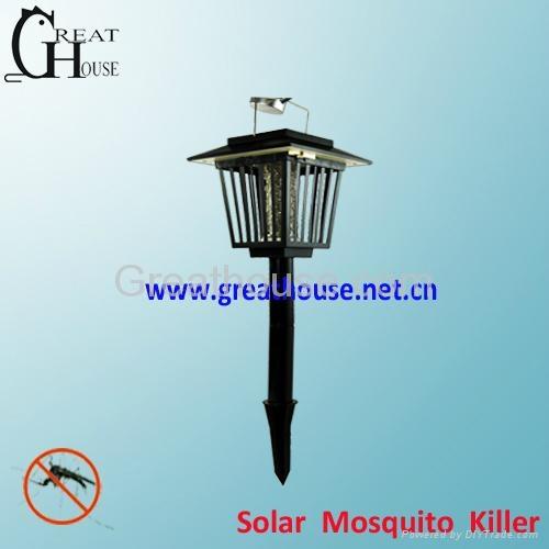 Solar Power mosquito killer Lamp 1