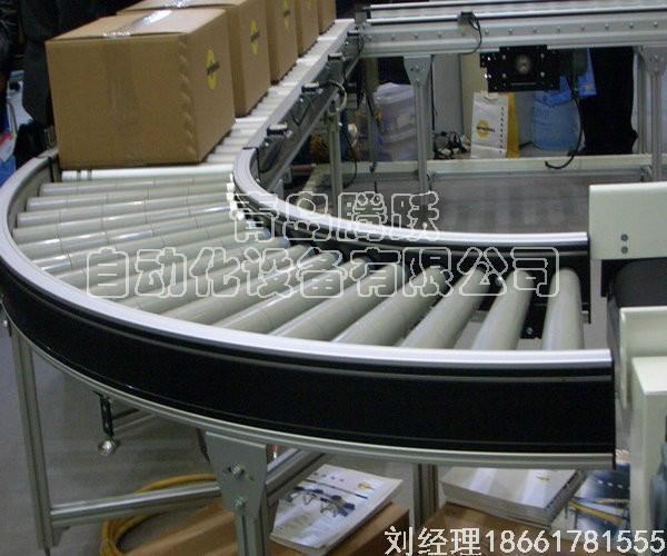 滚筒线_链板输送机青岛腾跃自动化设备有限公司供应 5