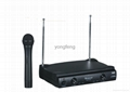 Professional VHF Dual Channels Wireless Microphone