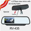 New Car Video,4.3 inch rear view monitor