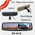 New 4.3 inch Rear View monitor,rear-view