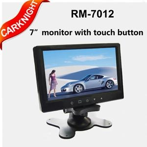 carknight 7 inch TFT-LCD monitor,Stand-alone minitor with touch button 1