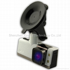 Car DVR with GPS logger and G-Sensor car camera FULL HD1920X1080P 30fps H.264 wi