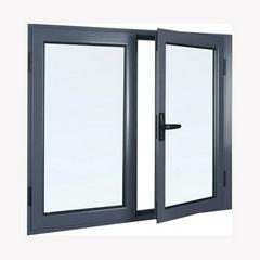 Aluminum inward casement window