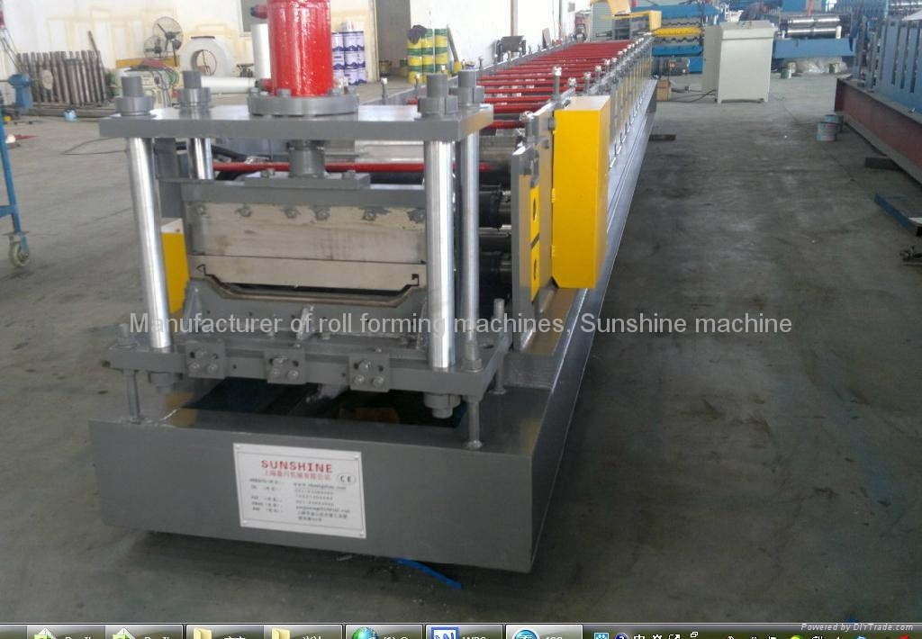 1000 roofing sheet roll forming machine 1