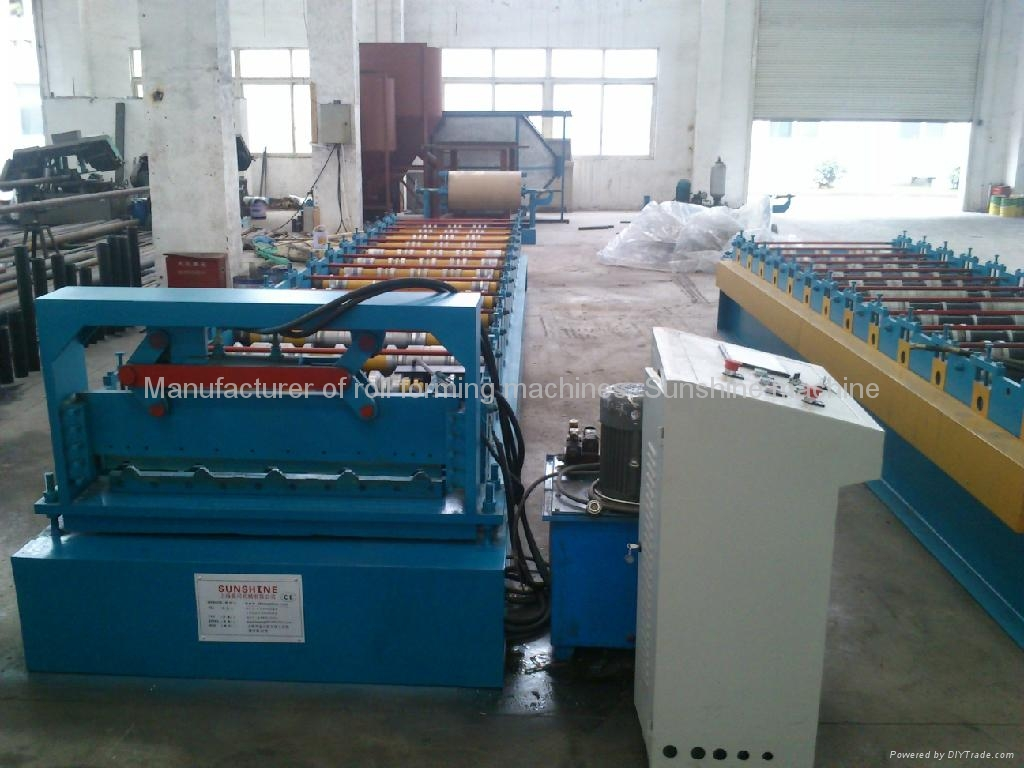 1000 roofing sheet roll forming machine 3
