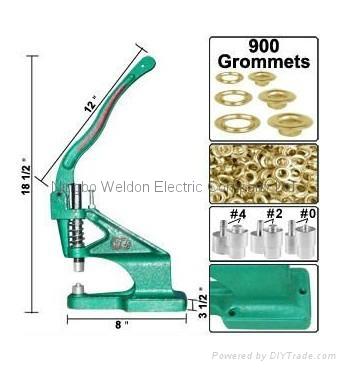 WELDON: eyeletting press machine 1