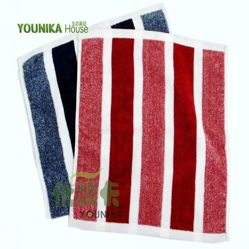 100% cotton reactive printed cartoon square towel 4