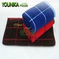 cotton dark solid color strip hotel towel  4