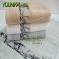 100% cotton ve  et embroidered towel sets  3