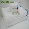 100% cotton ve  et embroidered towel sets  4