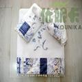 100% cotton ve  et embroidered towel sets  5