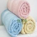 100% cotton jacquard solid color bath towel  2