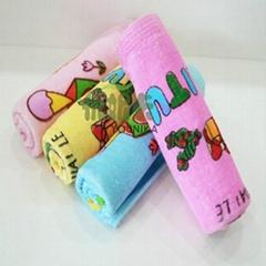 100% cotton reactive printed children towel